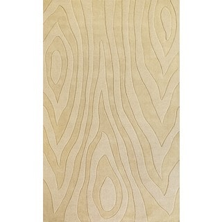 Hand-tufted Christopher Knight Home Ivory Grains Wool Area Rug (2'6 x 4'2)