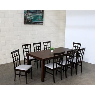 Warehouse of Tiffany Justin 9-piece Grey Dining Set