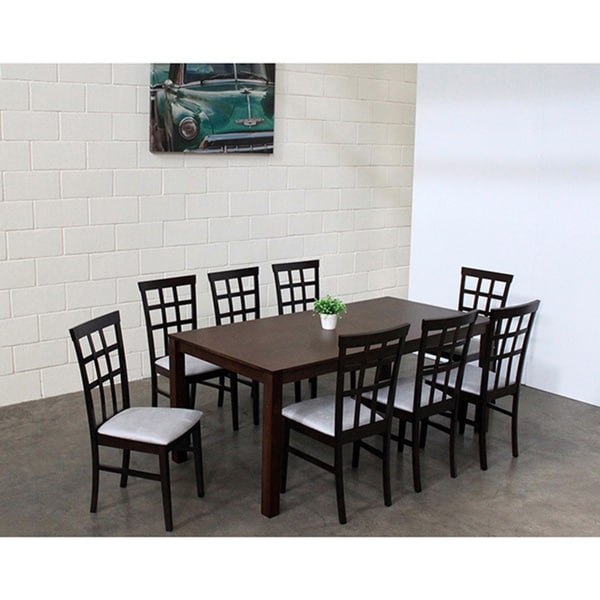 Warehouse of Tiffany Justin 9-piece Grey Dining Set