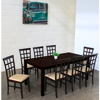 Warehouse of Tiffany Justin Sand 9-piece Dining Set