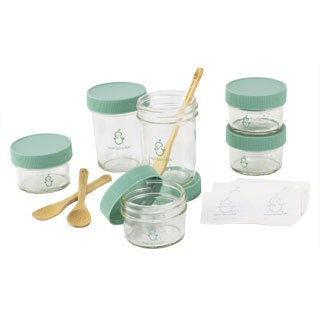 Sage Spoonfuls Storage System with Bonus Bamboo Feeding Spoons