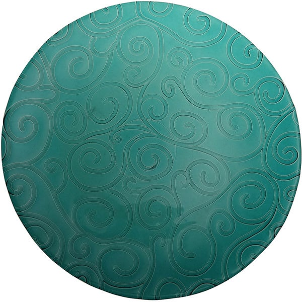 French Home Capri Teal Salad Plate (Set of 4)