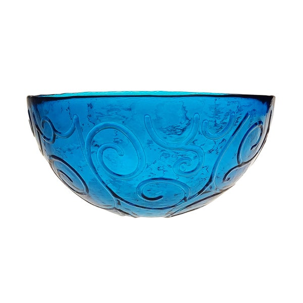 French Home 7-inch Cornflower Blue Soup/ Cereal Bowl (Set of 4)