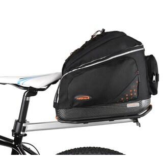 Ibera Bike PakRak Bicycle Seat Post Commuter Rack and Quick-Release Bag