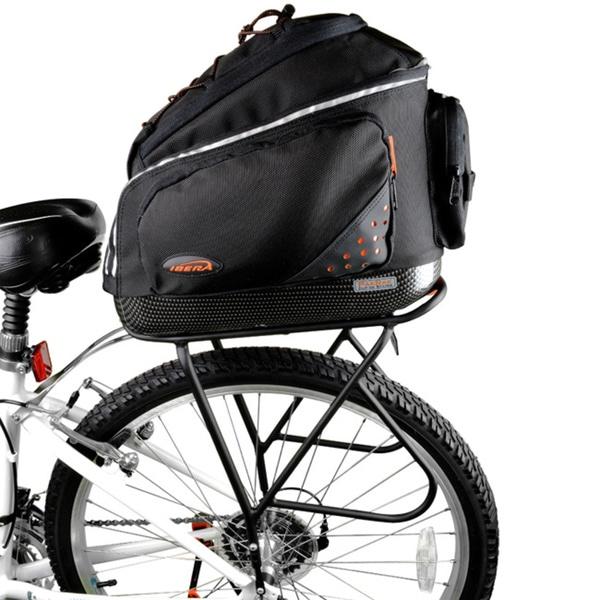 Ibera Bike PakRak Commuter Bag and Touring Carrier Rack