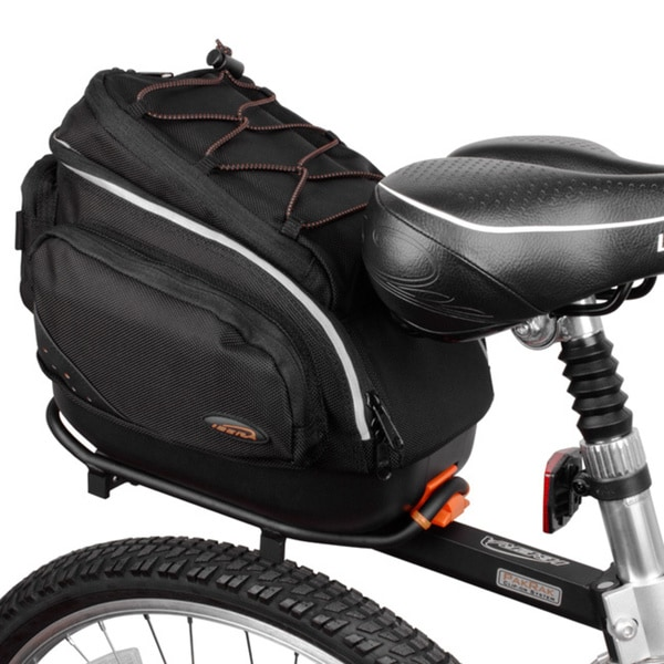 Ibera Bicycle PakRak Mini Commuter Bag and Mini Seatpost Rack