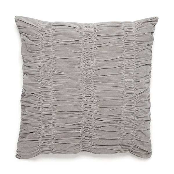 Modern Living Cedar Hill Ruched Velvet Decorative Throw Pillow