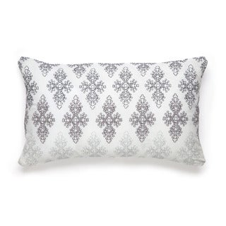 Modern Living Cedar Hill Medallion Embroidery Decorative Throw Pillow