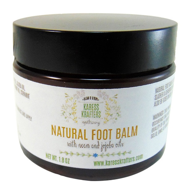 Karess Krafters Natural Moisturizing Foot Balm