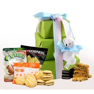 It's a Boy! Gluten Free Gift Tower, Large, 2 pounds