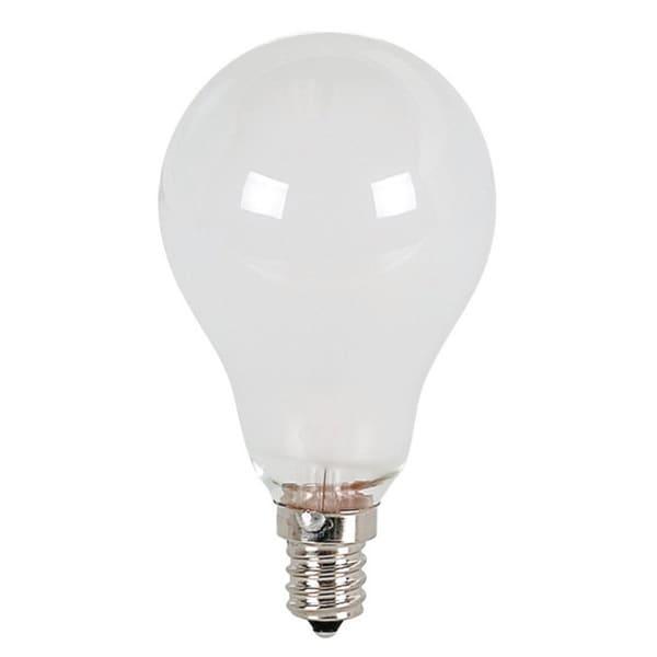 Frosted 25 Watt MB A-19 Light Bulb - 25 Pack