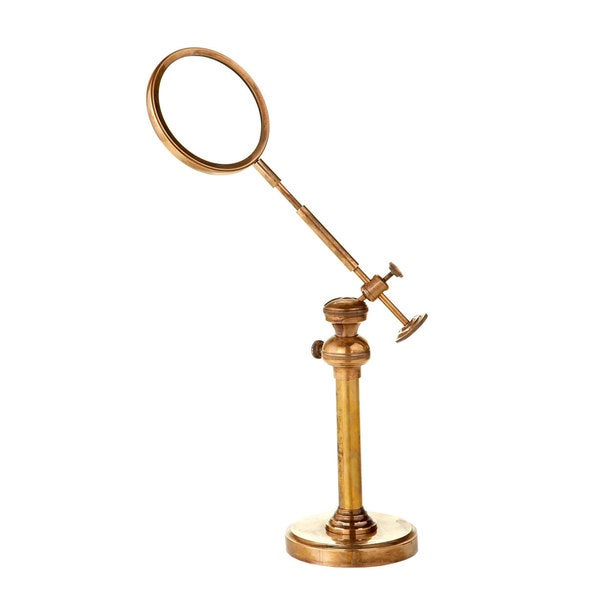 Brass Table Top Magnifier