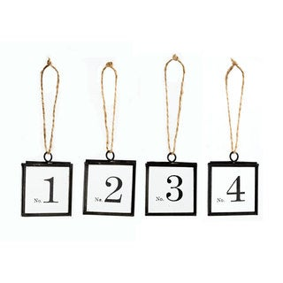 Brass Specimen Tags (Set of 16)