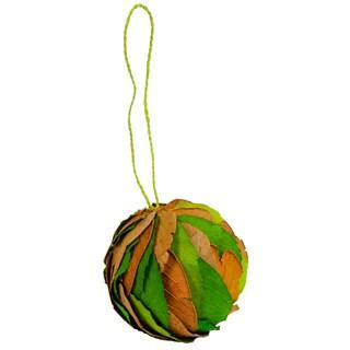 Decorative Leaf Ball (Set of 6)