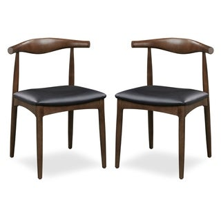 Edgemod Keren Solid Wood Dining Chair (Set of 2)