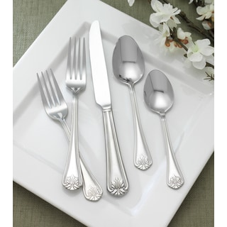 Reed and Barton Greenbriar 66-piece Stainless Steel Flatware Set