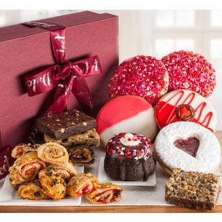 Valentines Day Grand Gourmet Sweet Confections Gift Basket