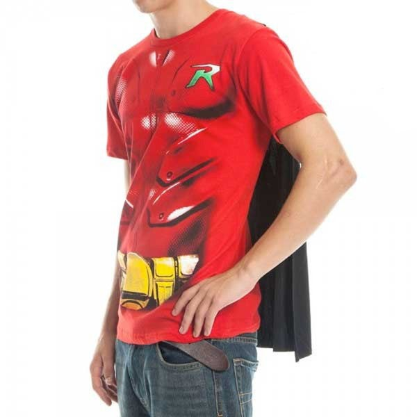 DC Comics Batman's Robin Caped Costume T-shirt