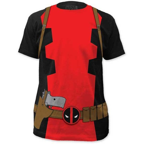 Marvel Deadpool X-Men T-shirt Costume