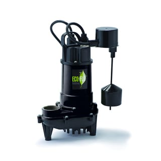 ECO-FLO Products ECD33V Vertical Switch Cast Iron Submersible Sump Pump