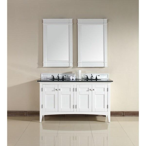 Winterfell Double Bathroom Vanity Cabinet Set Cherry  Bathroom Vanities Chandeliers Bar