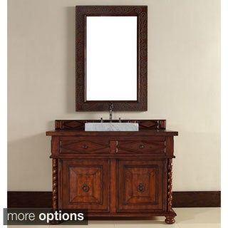 Continental 48-inch Burnished Cherry Single Vanity