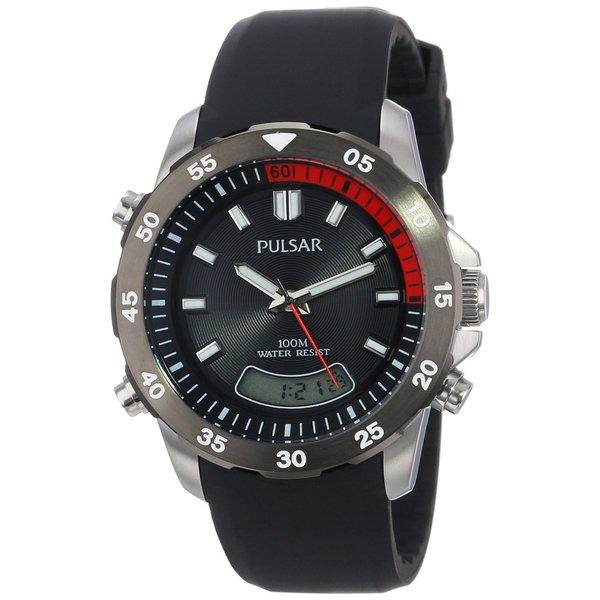 Pulsar Men's PVR063 Ana-Digi Stainless Watch