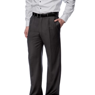 Toscano Fine Wool Grey Men's Dress Pants