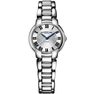 "Raymond Weil Women's 2629-ST-01659 ""Jasmine"" Automatic Silver Dial Stainless Steel Watch"