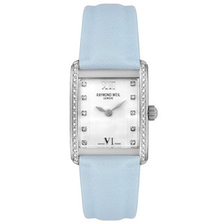 "Raymond Weil Women's 58731-SLS-00385 ""Don Giovanni"" Collection Diamond Leather Watch"