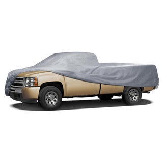 BDK Truck Cover Outdoor Indoor No-Scratch Lining Pickups with Extended Cab