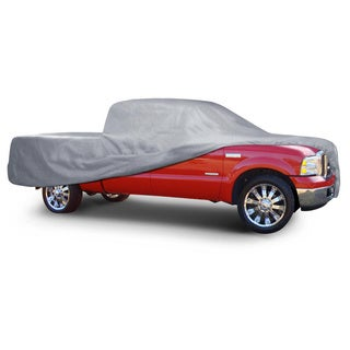 BDK Truck Cover Outdoor Indoor No-Scratch Lining Pickups for Full Size Extended Cab