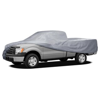 BDK Truck Cover Outdoor Indoor No-Scratch Lining Pickups for Full Size Regular Cab