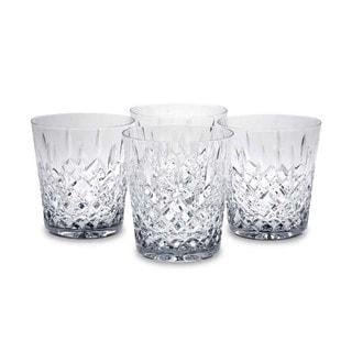 Reed & Barton Hamilton Double Old Fashioned Glasses (Set of 4)