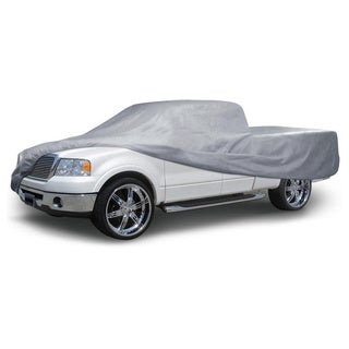BDK Truck Cover Outdoor Indoor No-Scratch Lining Pickups for Extended Cab and Crew Cab