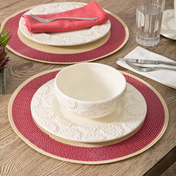 Montenegro Round Placemats (Set of 4)