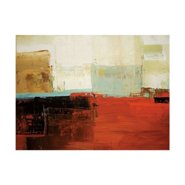 Peter Colbert 'Umber Tones' Gallery Wrap Canvas