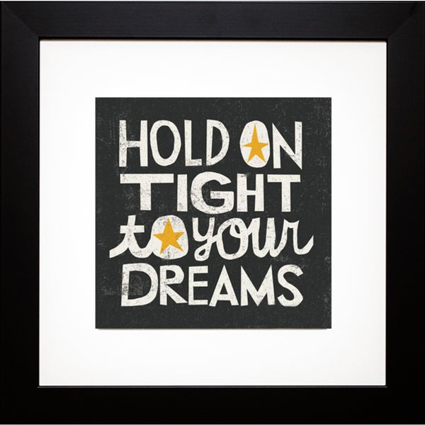 Michael Mullan 'Hold On Tight' Framed Artwork