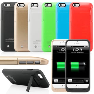 Gearonic 3500mah Battery Bank Power Case Cover for iPhone 6 (4.7 Inch)