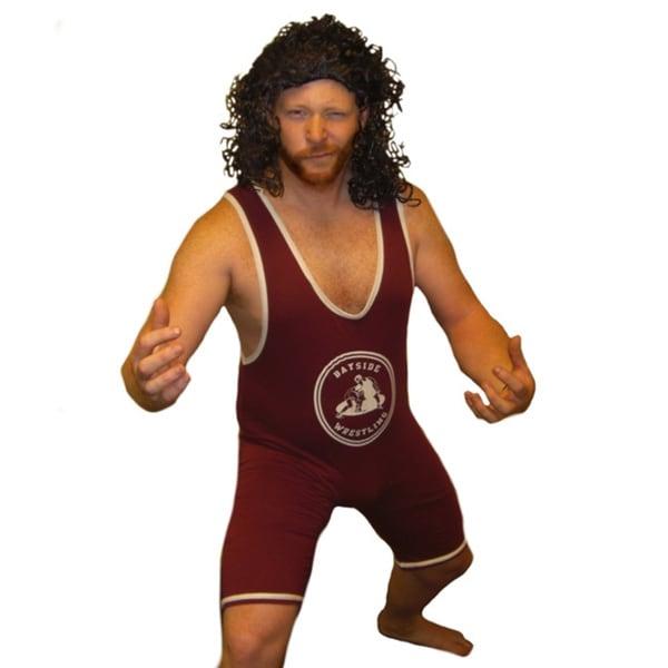A.C. Slater Bayside Wrestling Singlet Tigers Wrestler Costume