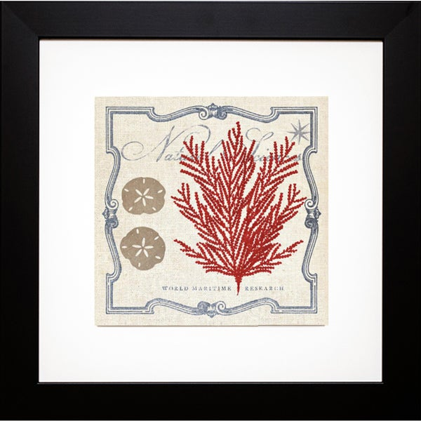 Studio Mousseau 'Pacific Sea Fern ' Framed Artwork