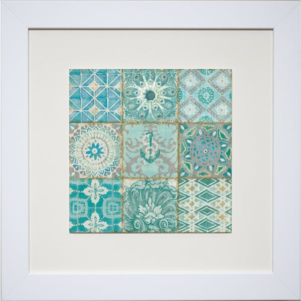 Pela Studio 'Ocean Tales I' Framed Artwork