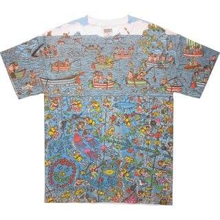 Men's Where's Waldo? Deep Sea Divers Great Search T-shirt