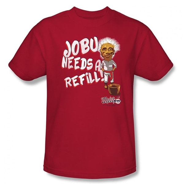 Jobu Needs A Refill T-shirt Major League Baseball Movie Men's Pedro Cerrano