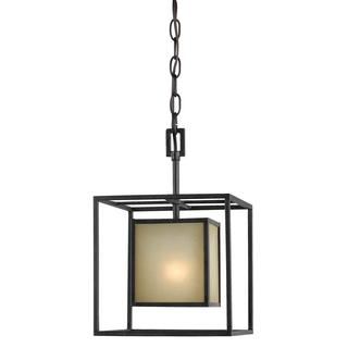 Hilden Collection 1-light Hanging Aged Bronze Pendant