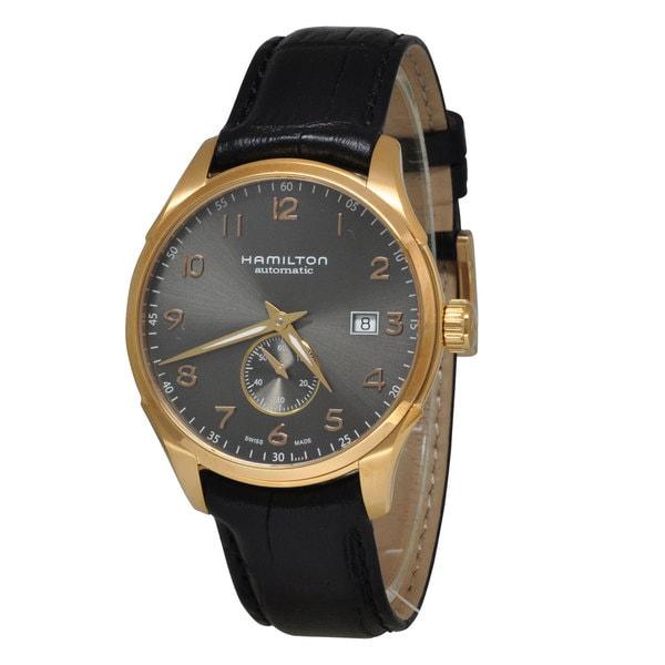 Hamilton Men's H42575783 Jazzmaster Maestro Rose Gold Watch
