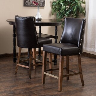 Christopher Knight Home Harman Counter Stool Brown (Set of 2)
