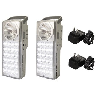 Gama Sonic DLG2-972LS Rechargeable 24-LED Portable Emergency Lantern (Set of 2)