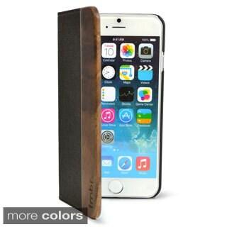 Wood iPhone 6 Folio Wallet Case
