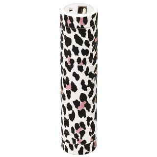Lipstick Leopard Portable Charger with 2200mAh Battery